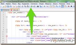WpMen - Кнопка отмены в NotePad++