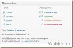 Статистика комментариев и статей на WpMen. Чего я достиг за 2012 год?