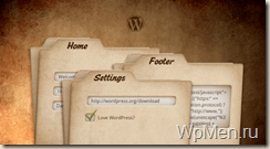 WpMen - Настройка шаблона WordPress