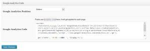 WpMen - Специально поле для статистики Google Analytics в премиум wordpress шаблонах.
