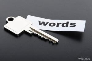 WpMen - Виды ключевых слов