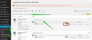 Перевод WordPress шаблона с помощью плагина Code Styling Localization
