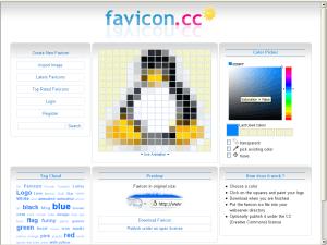 Создать favicon онлайн
