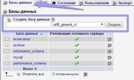 Как создать сайт openserver