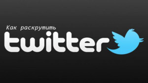 Как раскрутить Twitter аккаунт?